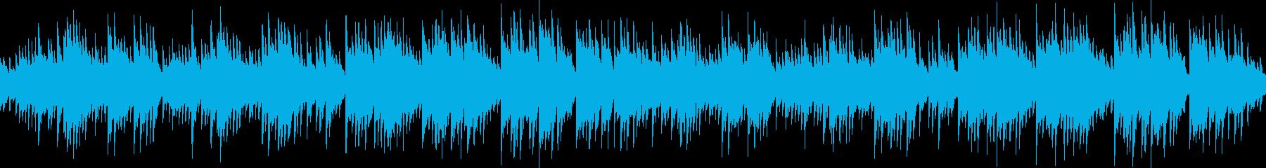 リラクゼーション系癒しピアノ(ループ可)の再生済みの波形
