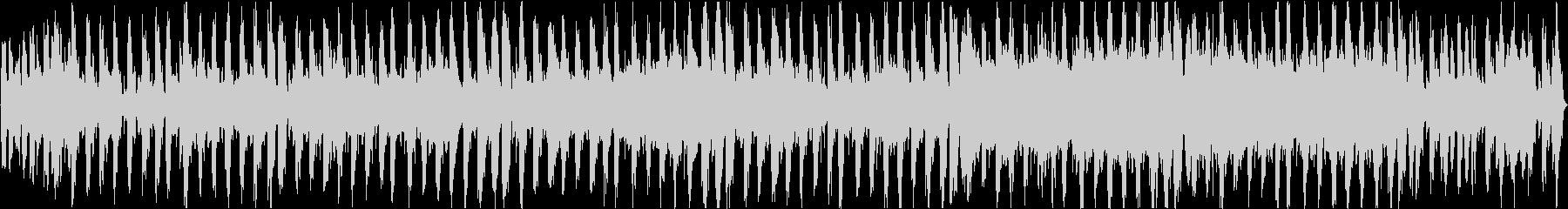 シンセループ音源ネット放送やゲームBGMの未再生の波形
