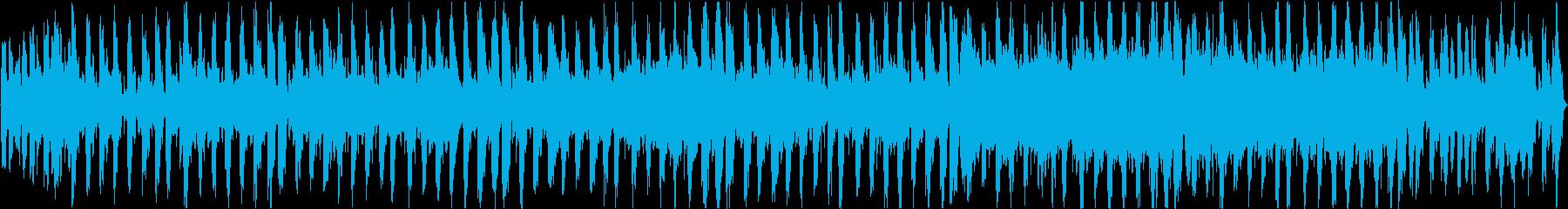 シンセループ音源ネット放送やゲームBGMの再生済みの波形