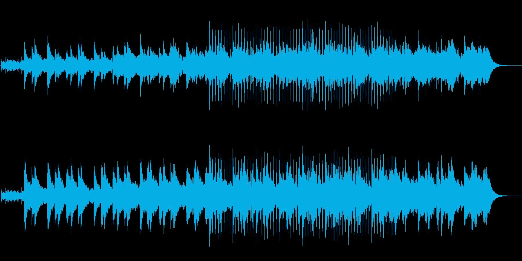 波のような爽やかで落ち着いたアンビエントの再生済みの波形