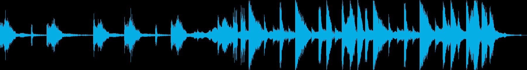おしゃれ洋楽ヒップホップR&Bソウルdの再生済みの波形