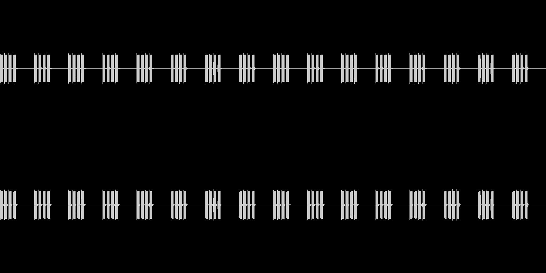 【時計 アラーム デジタル01-2L】の未再生の波形