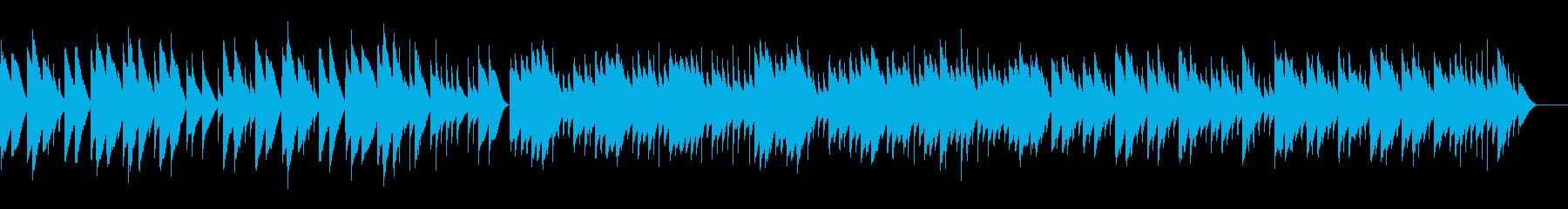 ヘンデル サラバンド (オルゴール)の再生済みの波形