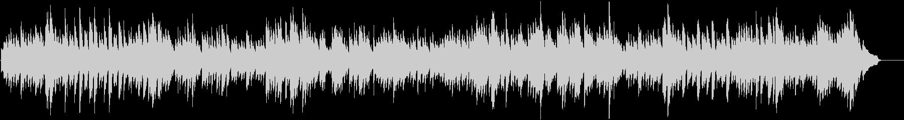 バッハ_インヴェンション第3番_ピアノの未再生の波形