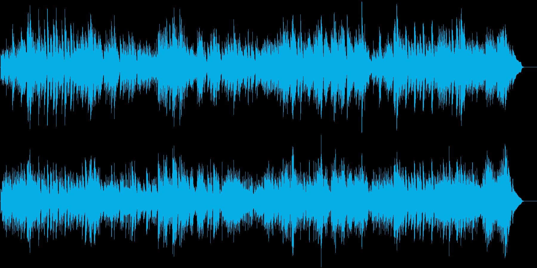 バッハ_インヴェンション第3番_ピアノの再生済みの波形