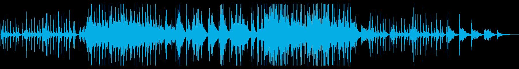 切ないメロディーが特徴的なピアノソロの再生済みの波形