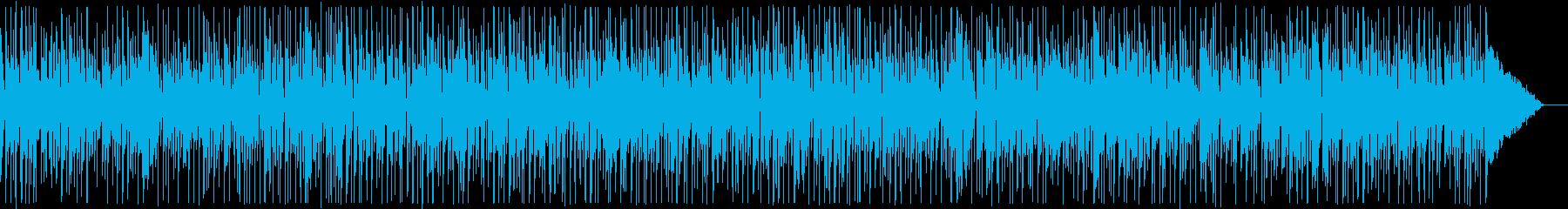 生演奏・陽気なギターとオルガンファンクの再生済みの波形