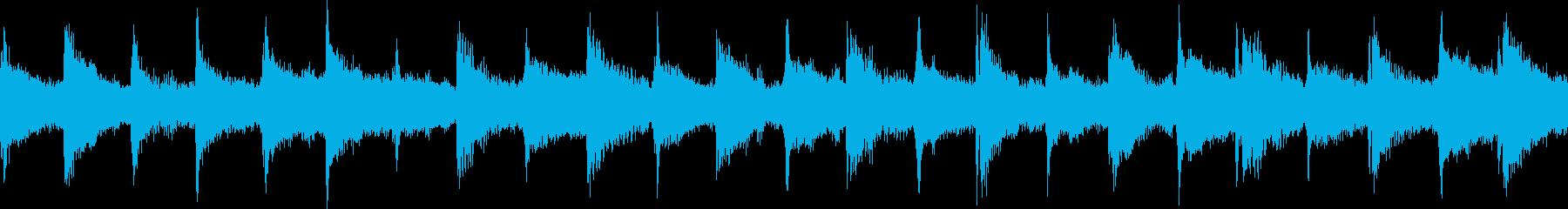 チクタクと時を支配する次元空間 明ループの再生済みの波形