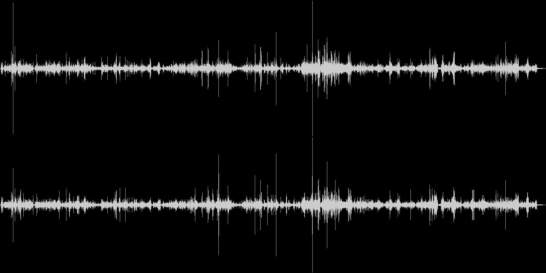 【生録音】ASMR 布の擦れる音・ノイズの未再生の波形
