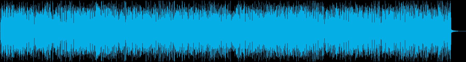 早送り動画に最適な疾走感カントリーバンドの再生済みの波形