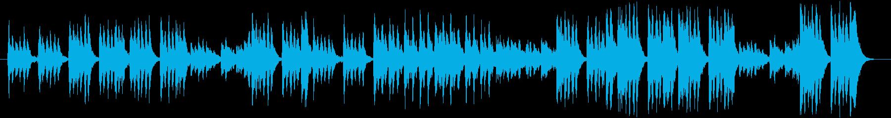 コミカル  オーケストラ音楽の再生済みの波形