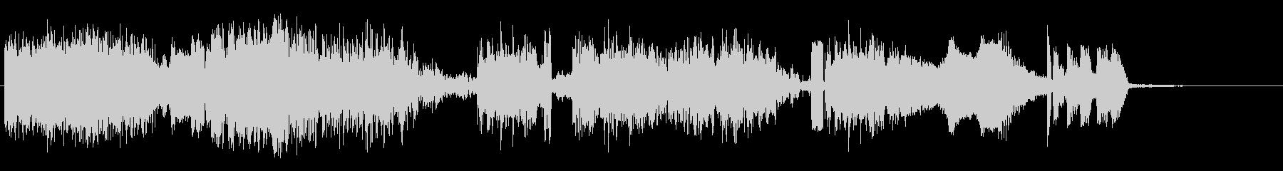 テレメトリーショットの未再生の波形