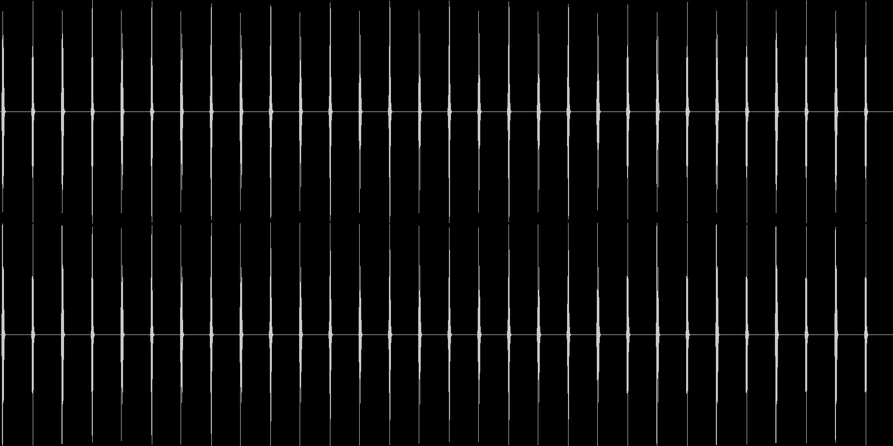 大きな壁時計:重いカチカチ音をたて...の未再生の波形