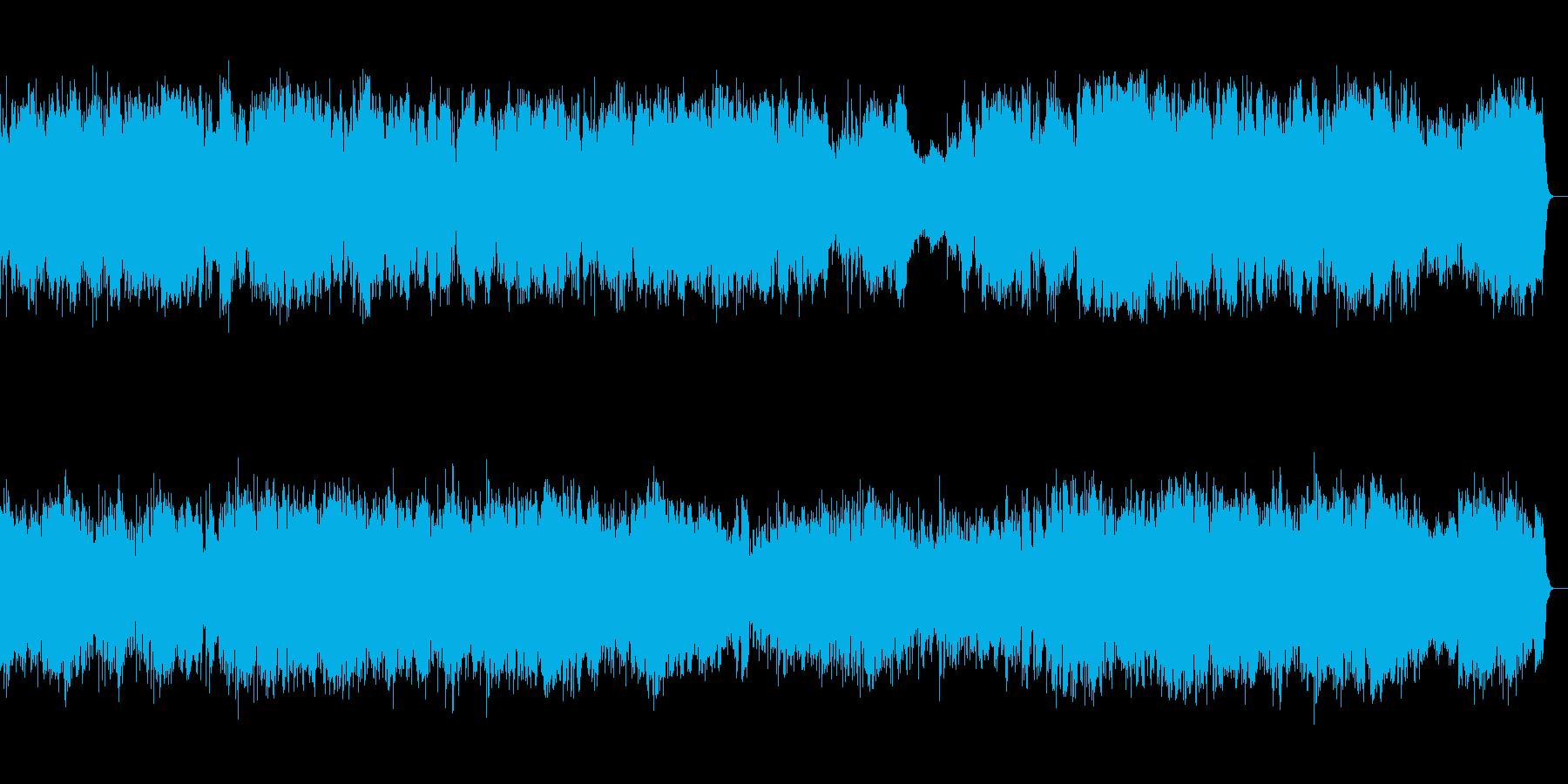 愛らしい木管五重奏の再生済みの波形