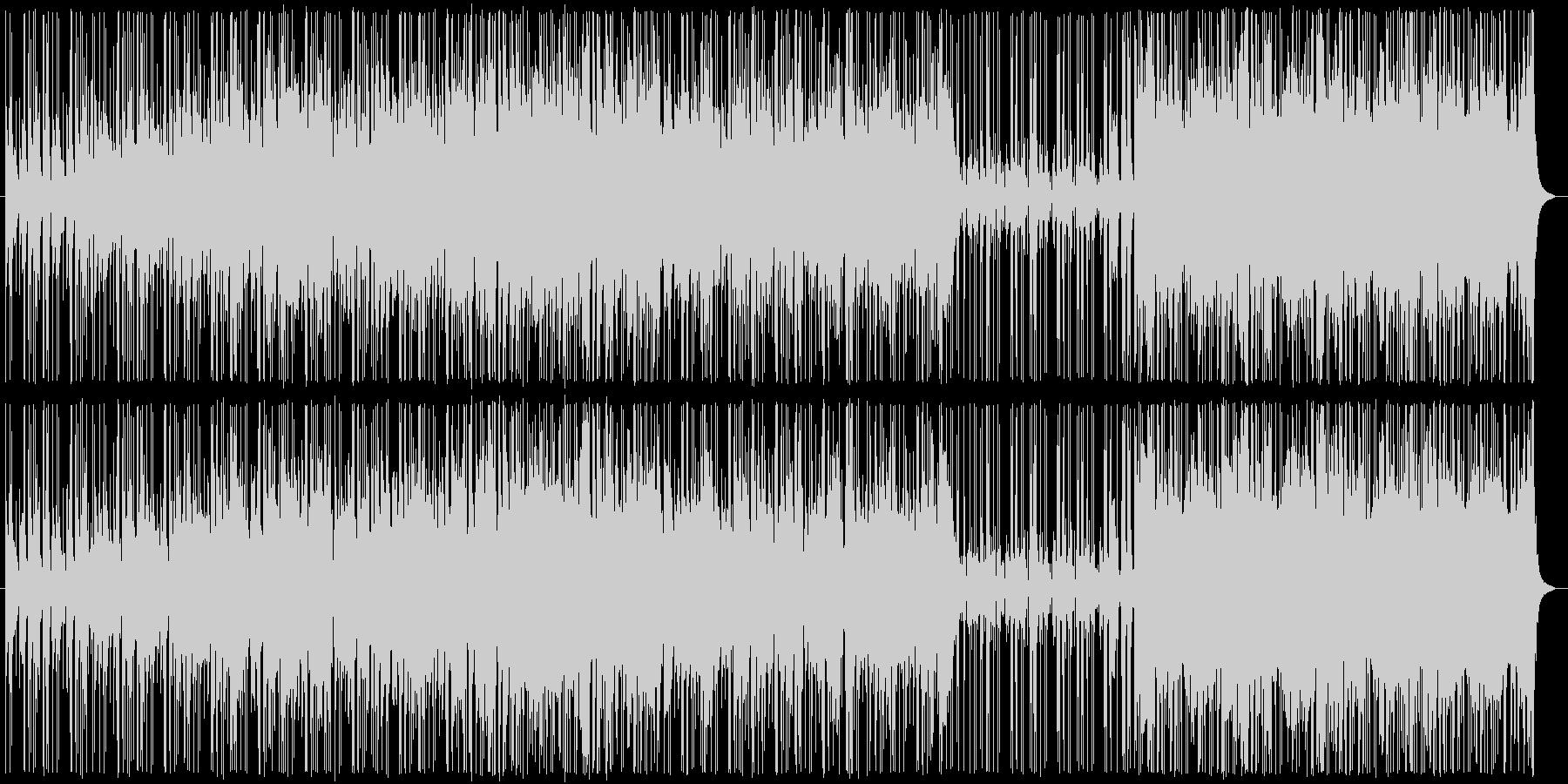 16ビート疾走ファンク!の未再生の波形