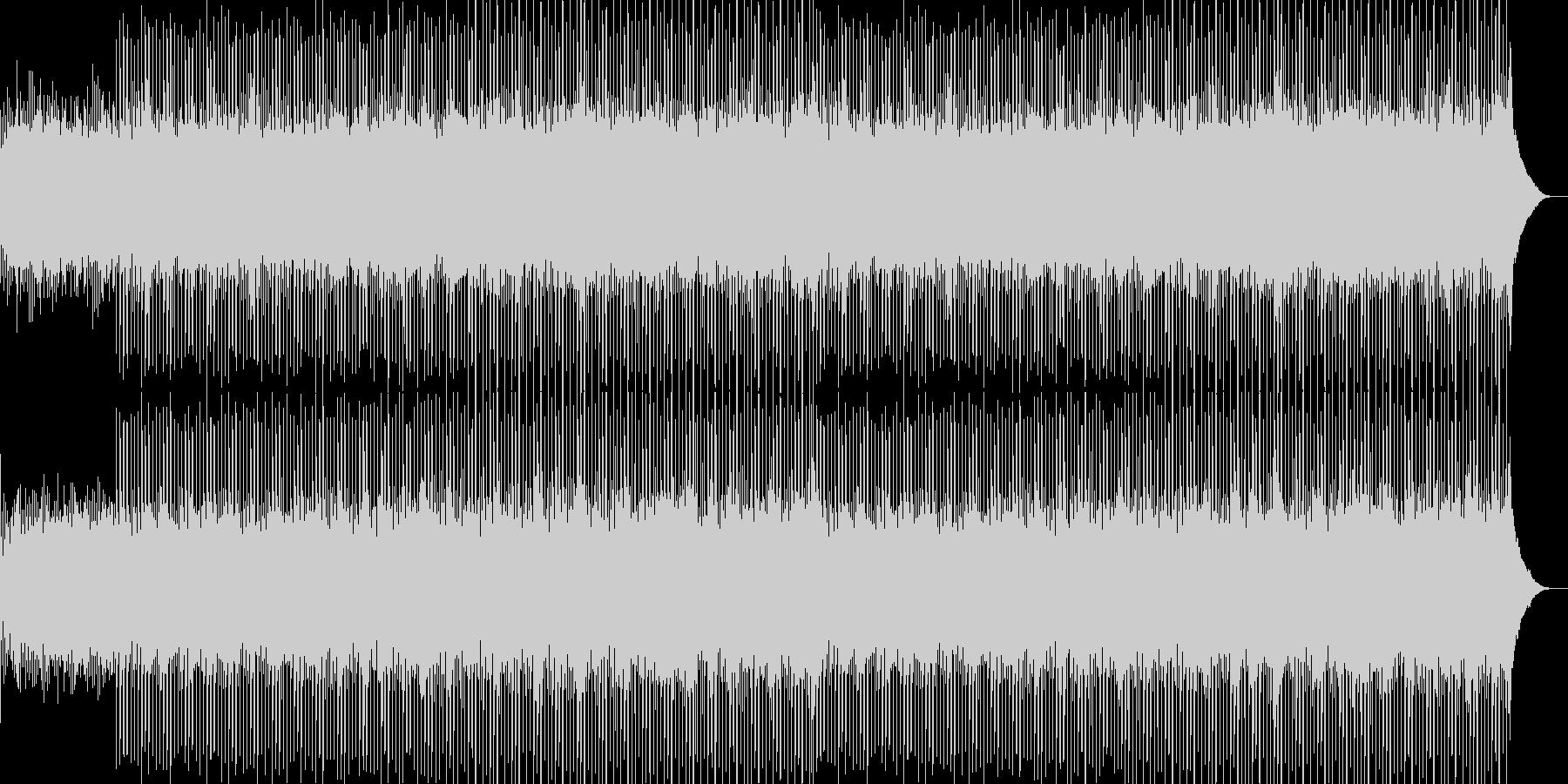 企業VP系27、爽やかギター4つ打ち6aの未再生の波形