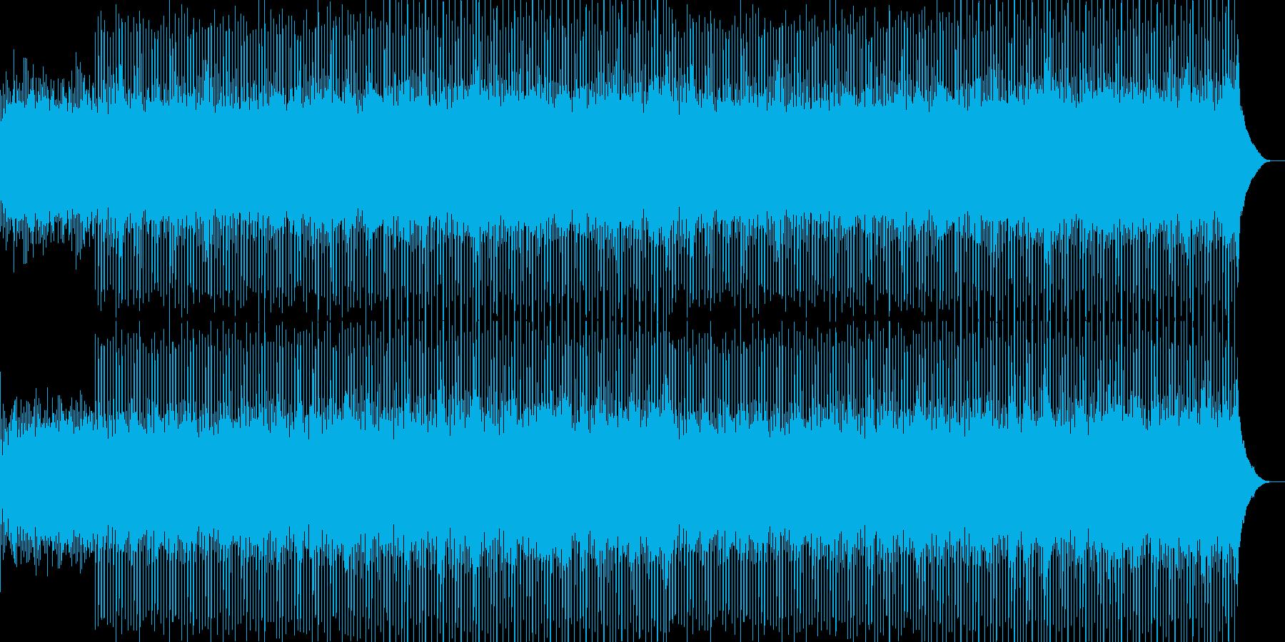 企業VP系27、爽やかギター4つ打ち6aの再生済みの波形