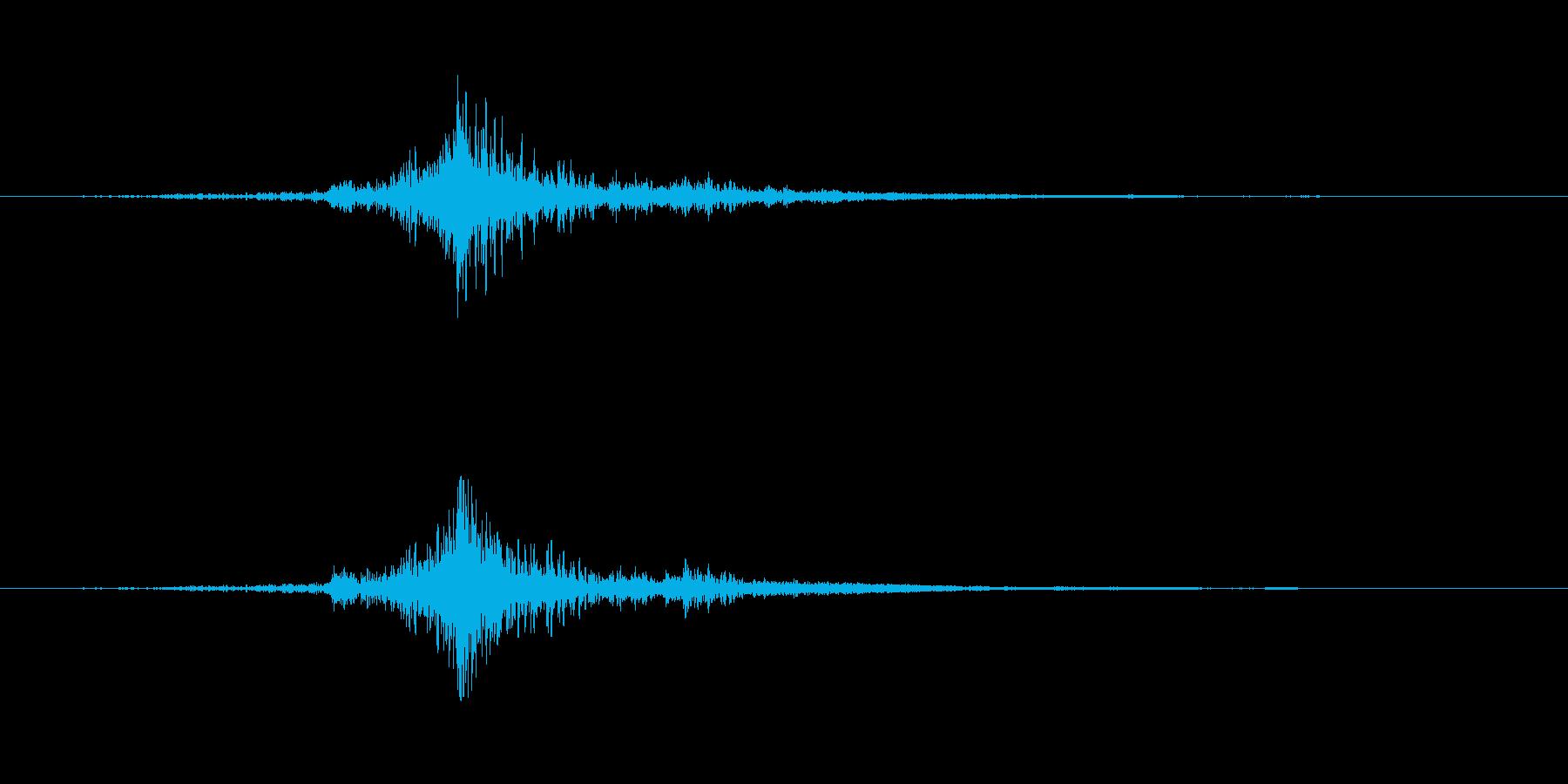 ワープ 個人ジャンプ小01の再生済みの波形