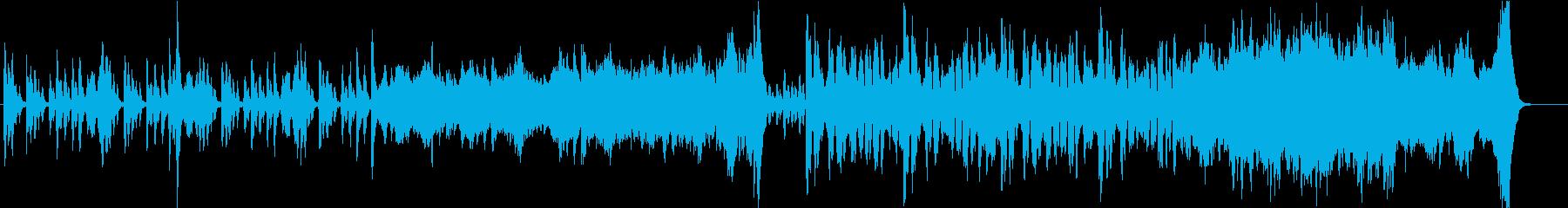 【CM】情緒ある優雅な和風オーケストラの再生済みの波形