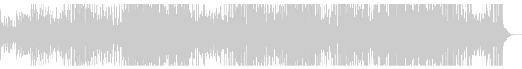 怪しい雰囲気と切ないメロディが印象的な曲の未再生の波形