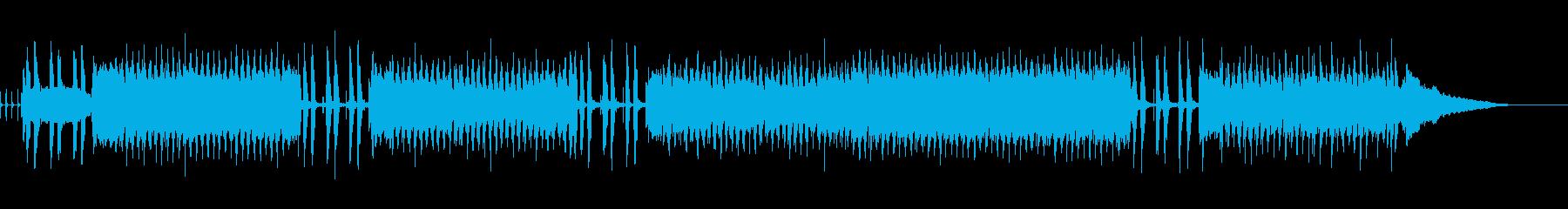 スライド!!の再生済みの波形