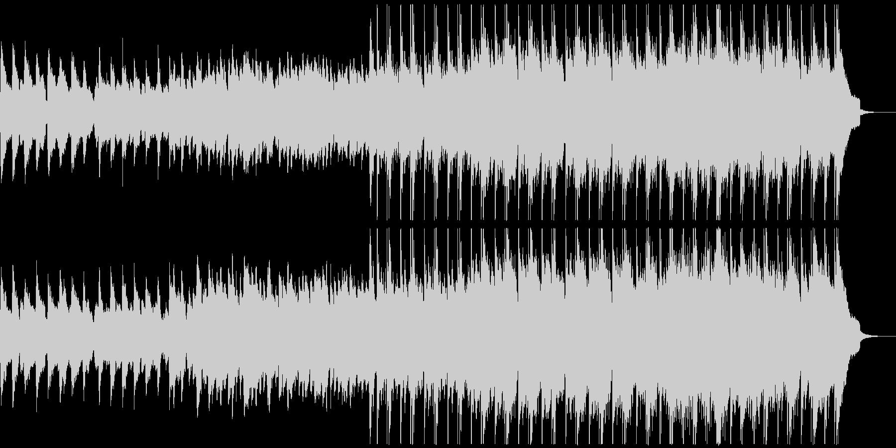 自然をイメージしたのびやかなケルトBGMの未再生の波形