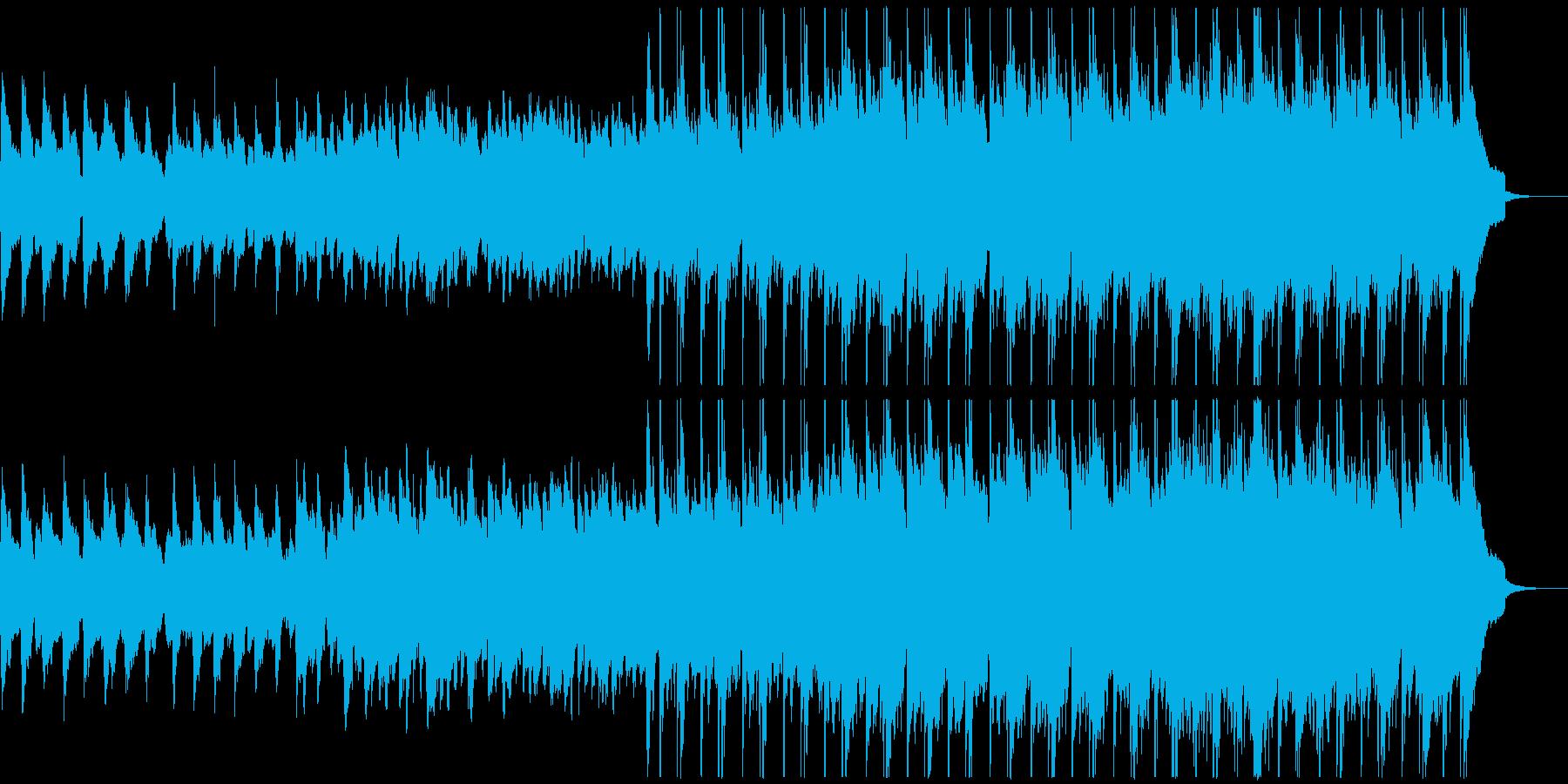 自然をイメージしたのびやかなケルトBGMの再生済みの波形