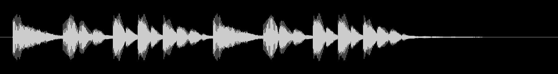びょぉん☆口琴のアイキャッチ2リバーブの未再生の波形