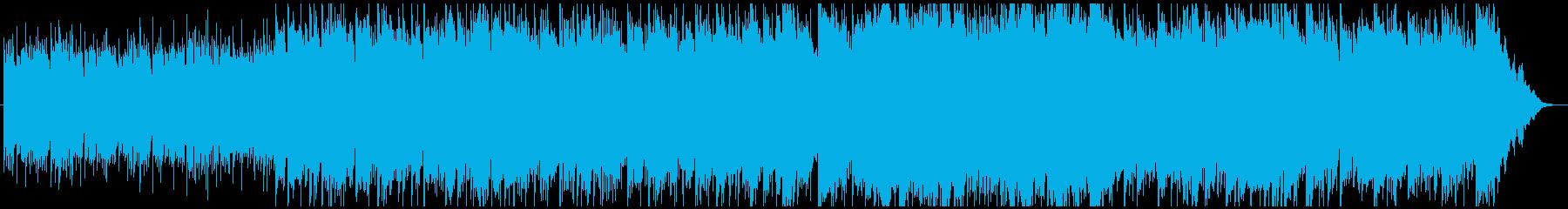 幻想的なヒーリング民族音楽の再生済みの波形