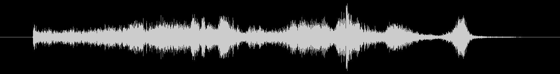 メタルシンク スクレープスウィッシュ01の未再生の波形