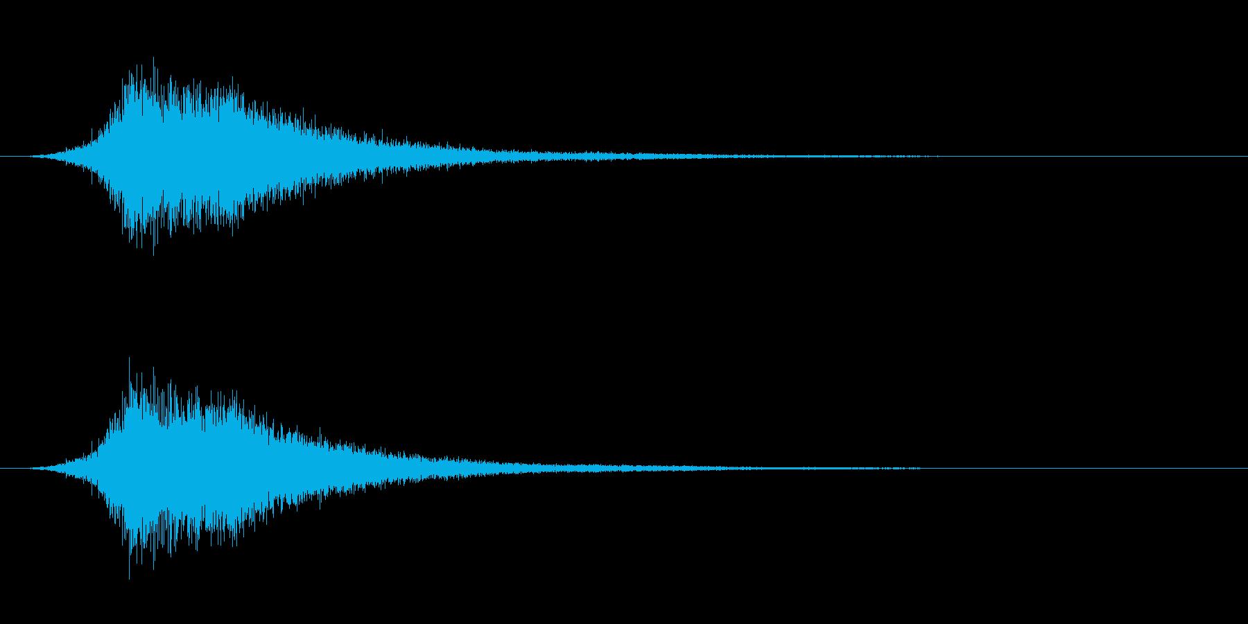 ワープの音。の再生済みの波形