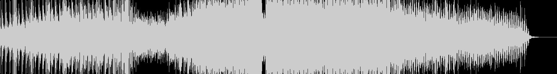 壮大なレトロウェーブの未再生の波形