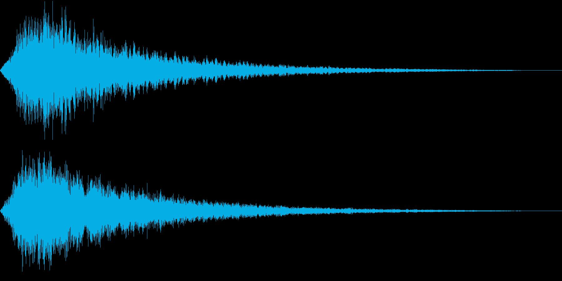 VOX ダーティーなコーラスPAD 1の再生済みの波形