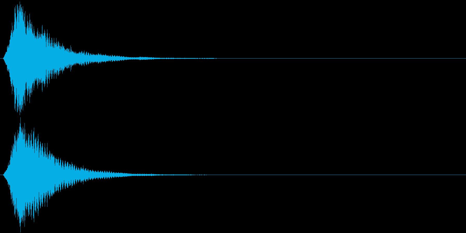 刀 キーン 剣 リアル インパクト Jの再生済みの波形