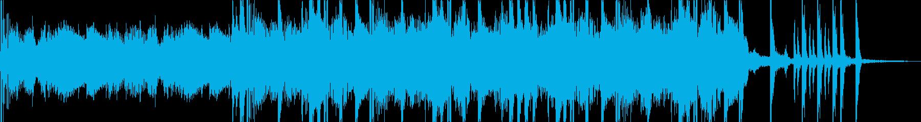 中東っぽい怪しげなHIPHOPの再生済みの波形