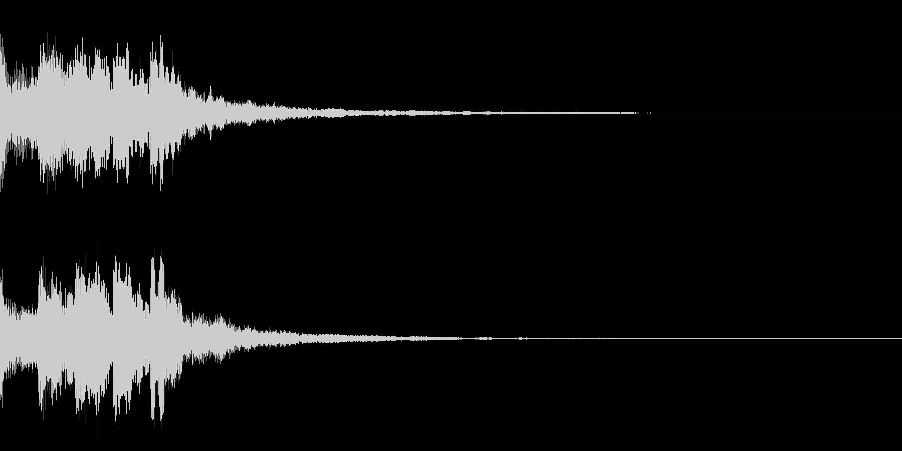 ミステリー系導入音_その8の未再生の波形