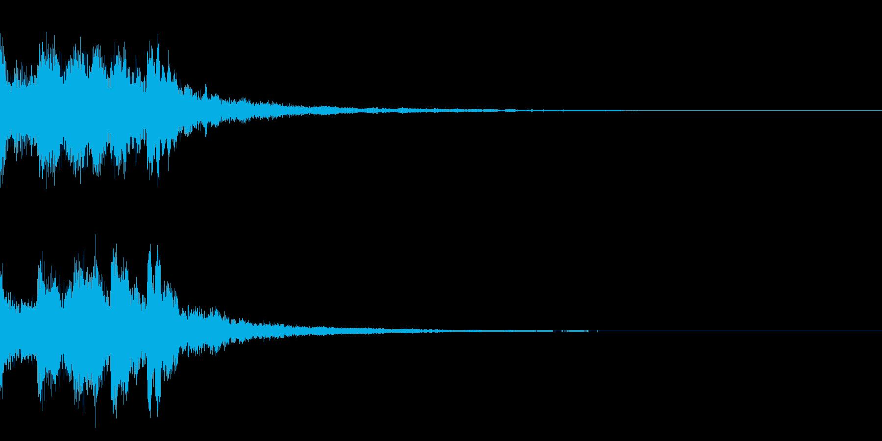 ミステリー系導入音_その8の再生済みの波形