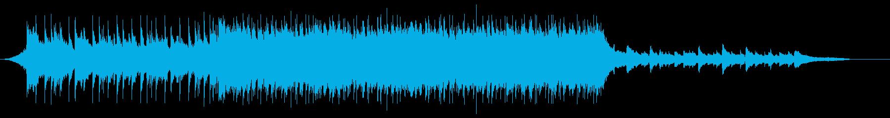 VP系27D、スポーツ系、爽やかロックの再生済みの波形