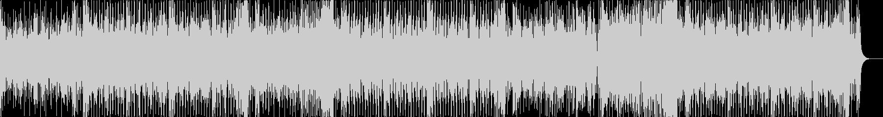ディスコな感じのエレクトロハウスの未再生の波形