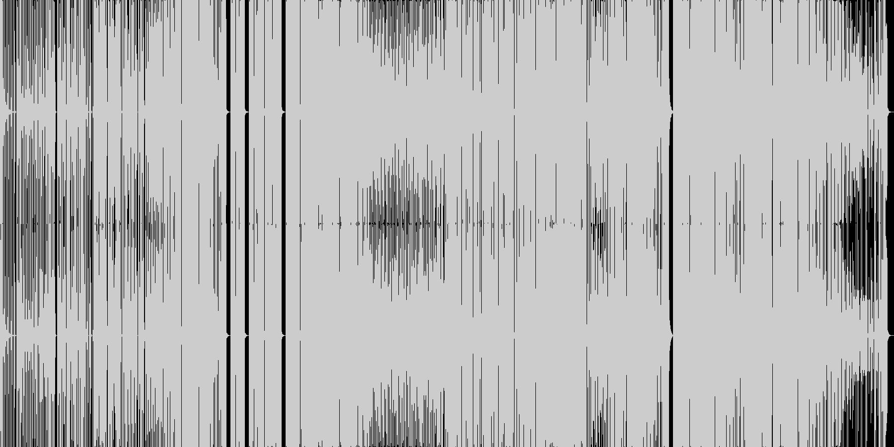 ちょっと変わったフューチャーベースの未再生の波形