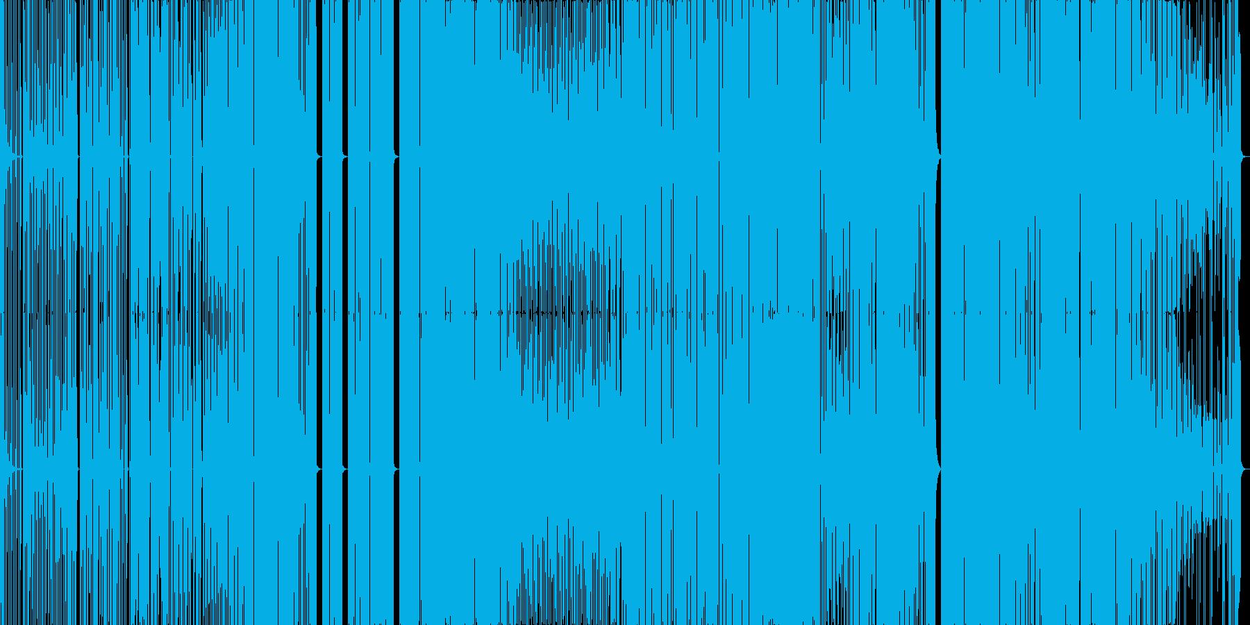 ちょっと変わったフューチャーベースの再生済みの波形
