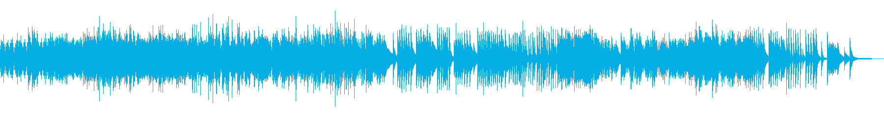 ピアノソロ、ドビュッシー 夢の再生済みの波形