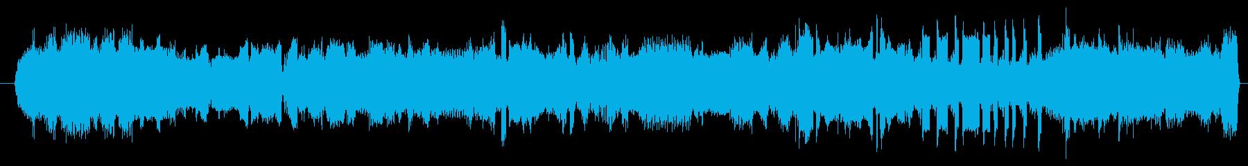 ノイズ デジタルエラーシーケンス01の再生済みの波形