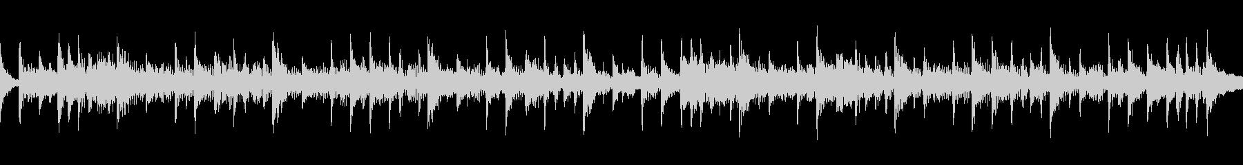 リズミカルなドラムロックの未再生の波形