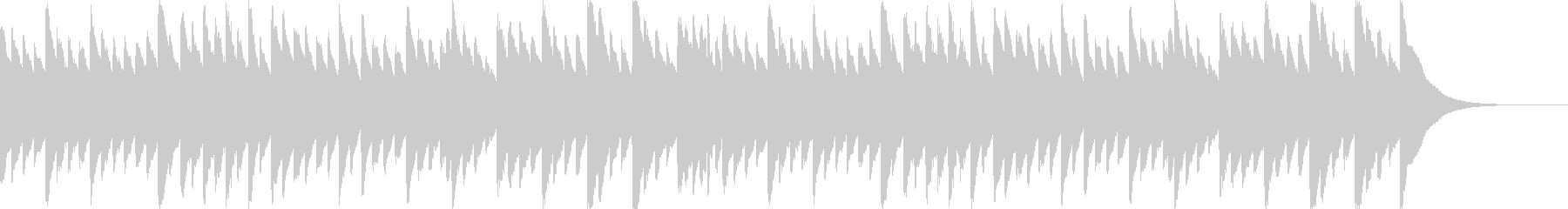 ベートーベン「悲愴」のオルゴールの未再生の波形