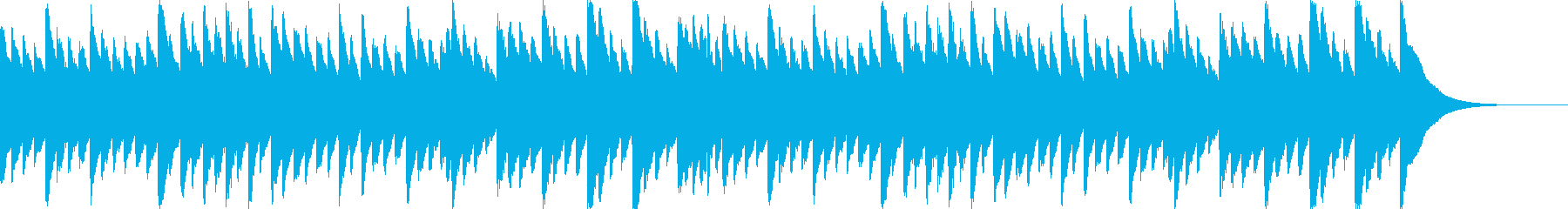 ベートーベン「悲愴」のオルゴールの再生済みの波形