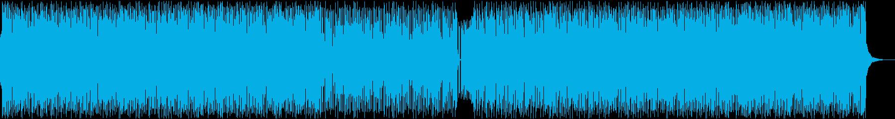 ノリノリ・ダンス・ディスコ・ステージの再生済みの波形