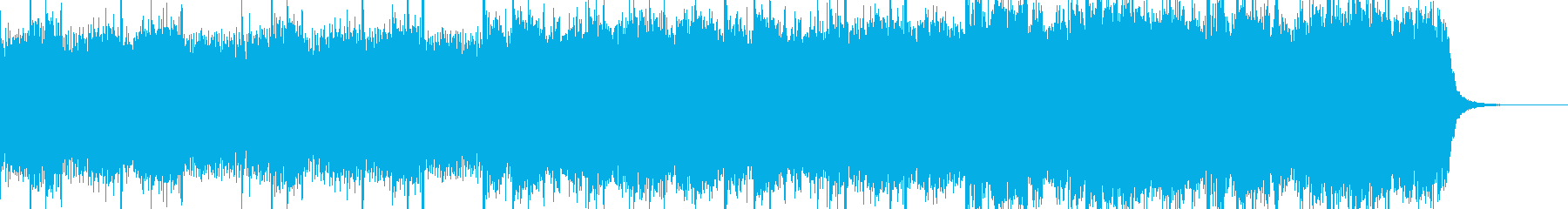 企業VP向け感動的なピアノBGMの再生済みの波形