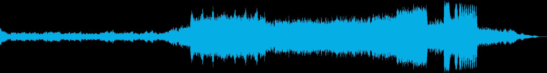 チャイコフスキー作曲のバレエ音楽の再生済みの波形
