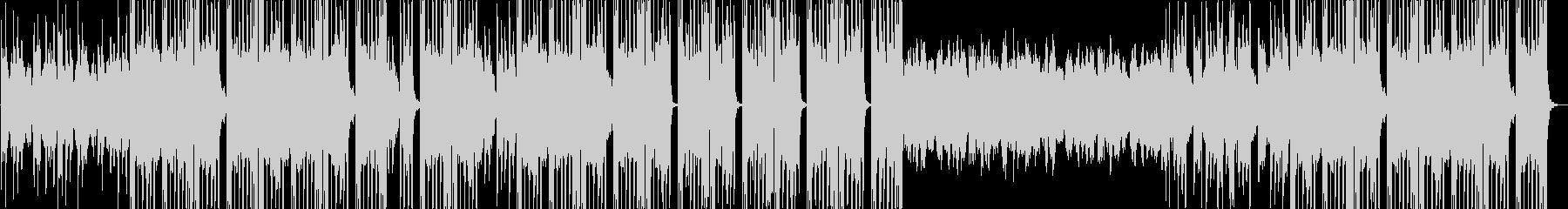洋楽風ヒップホップトラックの未再生の波形